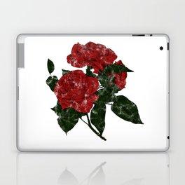 Distressed Rose Tattoo Laptop & iPad Skin