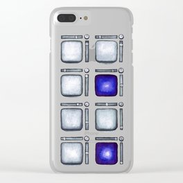 Pad Controller in Purple Clear iPhone Case