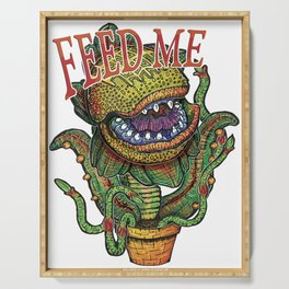 Audrey II Serving Tray