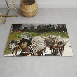 Black Women Are The Mules Of The Earth - Zora Neale Hurston Rug
