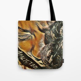 Afflicted Digital Art Photography Tote Bag