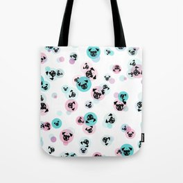 Fizzy Pugs Tote Bag