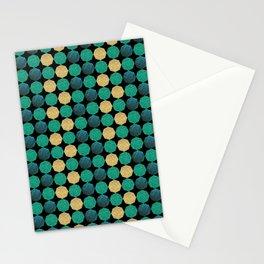 Glitzy Greens Stationery Cards