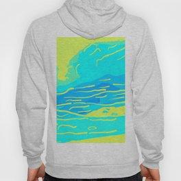 abstract style aurora borealis absbryi Hoody