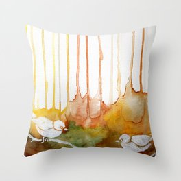 Bird Soul 2 Throw Pillow
