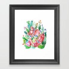 body nature Framed Art Print