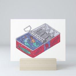 Party Sardine Mini Art Print