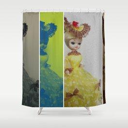 Dollface Shower Curtain
