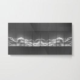 Waves Beyond the Surface Metal Print