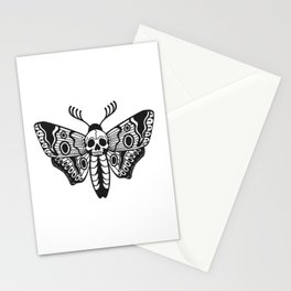 Death Moth Stationery Cards