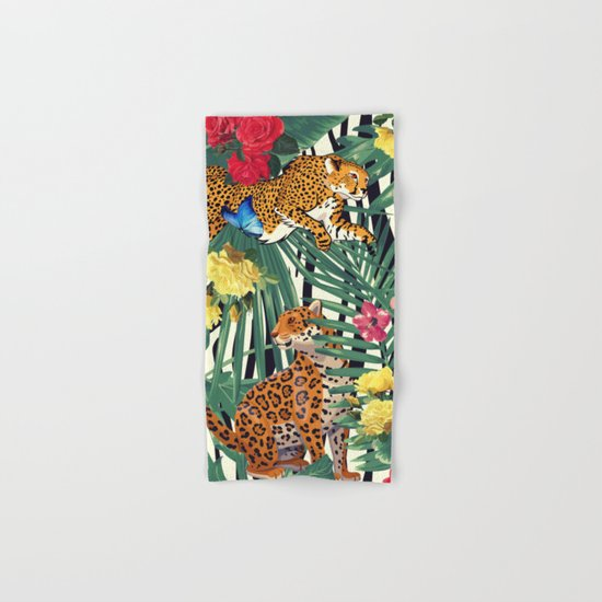 tropical wild  Hand & Bath Towel