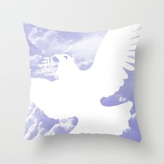 Peace all over Throw Pillow