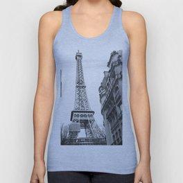 The Eifel tower in Paris Unisex Tank Top