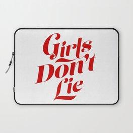 Girls Don't Lie Laptop Sleeve