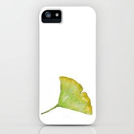 Ginkgo Leaf iPhone Case