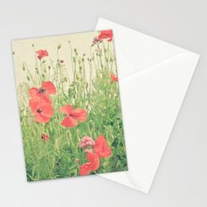 Sea of Red Stationery Cards