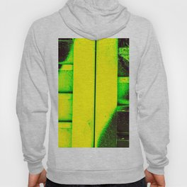 Black, Green and Gold Hoody