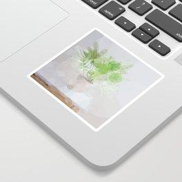 Eucalyptus Green Leaves Sticker