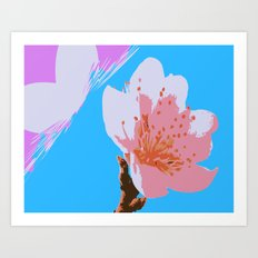 Blossoms: Four Art Print