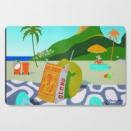 GLOBO COOKIES IN RIO Cutting Board