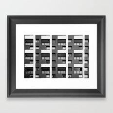 Surface Tension: 14 Fortrose Street Framed Art Print