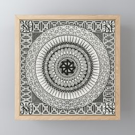 Mandala3 Framed Mini Art Print
