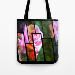 Pink Roses in Anzures 1 Tinted 1 Tote Bag