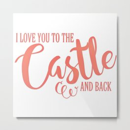 To The Castle & Back Metal Print