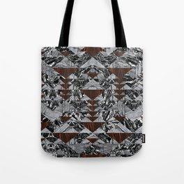 Wood Galaxy Tote Bag