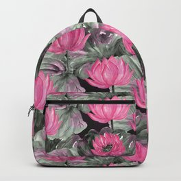 Water Lily. Backpack