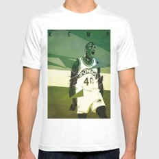 Seattle Reign Man MEDIUM Mens Fitted Tee White