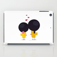 afro iPad Cases featuring Afro Love by Piktorama