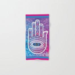 Hamsa Prayer Hand & Bath Towel