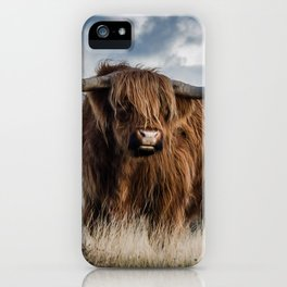 Bull Landscpe nature iPhone Case