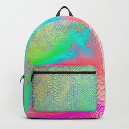 Nous Pneumatic - Glitch Holographic Art Backpack