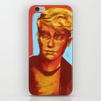 kieren walker iPhone & iPod Skins featuring Kieren Walker by charlotvanh