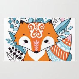 Cute fox Rug
