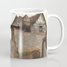 Nicolae Grigorescu - Street in Vitre Coffee Mug