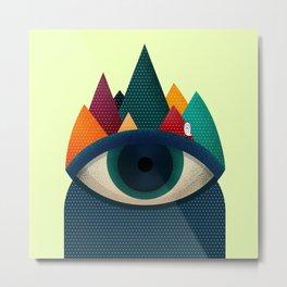 068 - I've seen it owl Metal Print