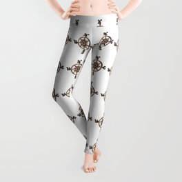 Wheel - Compass Leggings