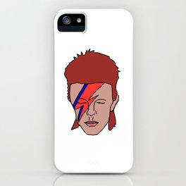 Bowie iPhone Case