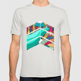 River in the mountains T-shirt
