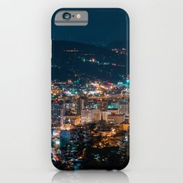 Portland Night Skyline iPhone Case