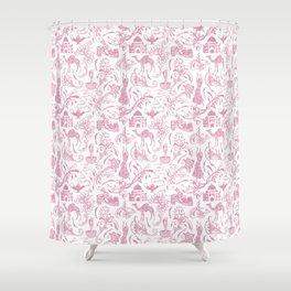 Arabian Nights // Blush Pink Shower Curtain