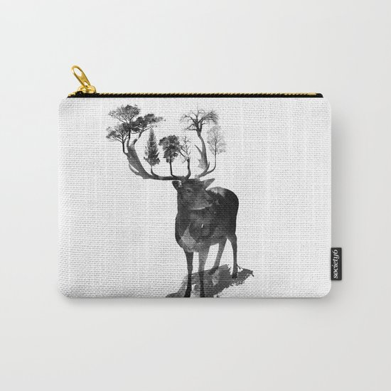 The Black Forest Deer Carry-All Pouch