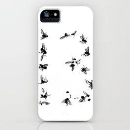 13 Flies iPhone Case