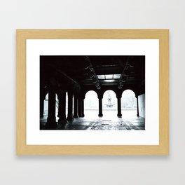 Beware The Dark! Framed Art Print