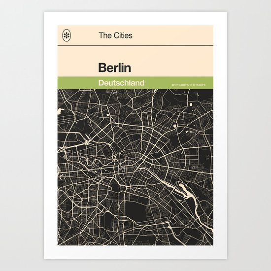 Berlin Map by speakerine