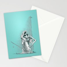 Lil Death problems - The framed picture Stationery Cards