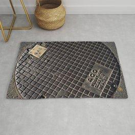 Manhole Cover Rug